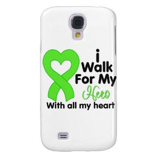 Lyme Disease I Walk For My Hero Samsung Galaxy S4 Cover