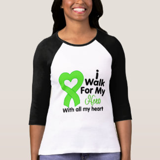 Lyme Disease I Walk For My Hero T-shirts