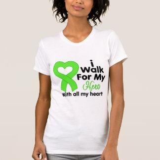 Lyme Disease I Walk For My Hero Tee Shirts