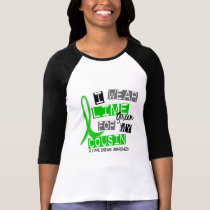 Lyme Disease I Wear Lime Green For My Cousin 37 T-Shirt