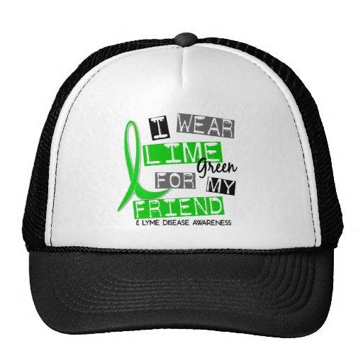 Lyme Disease I Wear Lime Green For My Friend 37 Trucker Hat