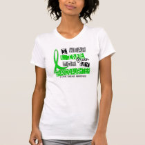 Lyme Disease I Wear Lime Green For My Granddaughte T-Shirt