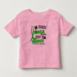 Lyme Disease I Wear Lime Green For My Grandma 37 Toddler T-shirt