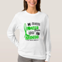 Lyme Disease I Wear Lime Green For My Grandson 37 T-Shirt