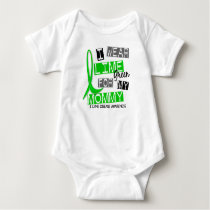 Lyme Disease I Wear Lime Green For My Mommy 37 Baby Bodysuit