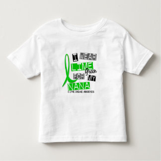 Lyme Disease I Wear Lime Green For My Nana 37 Shirt