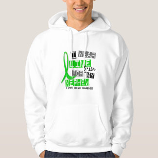 Lyme Disease I Wear Lime Green For My Nephew 37 Hoodie