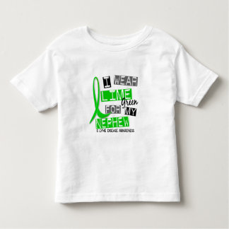 Lyme Disease I Wear Lime Green For My Nephew 37 Toddler T-shirt