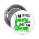 Lyme Disease I Wear Lime Green For My Patients 37 Pinback Buttons