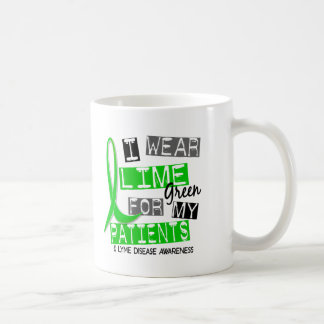 Lyme Disease I Wear Lime Green For My Patients 37 Coffee Mugs