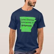 Lyme Disease in Arkansas Awareness Shirt
