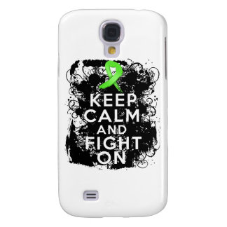 Lyme Disease Keep Calm and Fight On Samsung Galaxy S4 Cases
