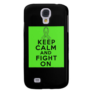 Lyme Disease Keep Calm and Fight On Galaxy S4 Case