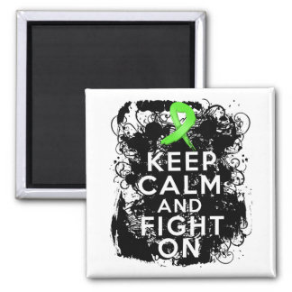 Lyme Disease Keep Calm and Fight On Magnet