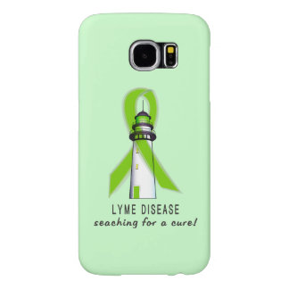 Lyme Disease Lighthouse Searching for a Cure Samsung Galaxy S6 Case