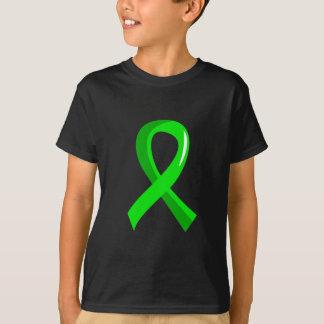 Lyme Disease Lime Green Ribbon 3 T-Shirt