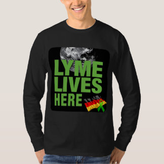 Lyme Disease Lives Here Shirt  Awareness Germany
