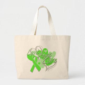 Lyme Disease Love Hope Cure Bag