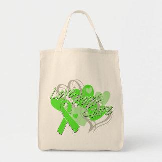 Lyme Disease Love Hope Cure Canvas Bags