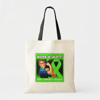 Lyme Disease Mission We Can Do It Budget Tote Bag