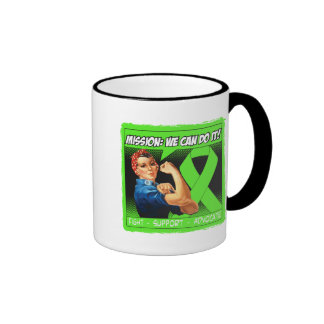 Lyme Disease Mission We Can Do It Ringer Coffee Mug