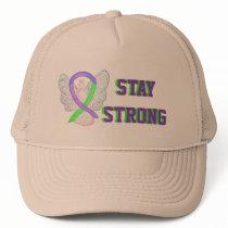 Lyme Disease, Pain, Lupus Awareness Ribbon Caps