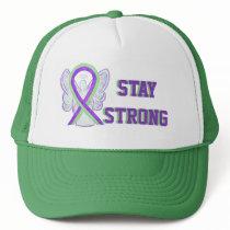 Lyme Disease, Pain, Lupus Awareness Ribbon Hat