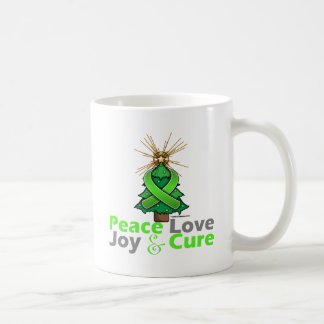 Lyme Disease Peace Love Joy Cure Classic White Coffee Mug