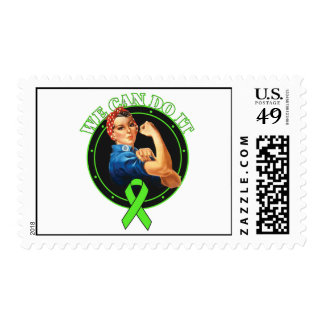 Lyme Disease - Rosie The Riveter - We Can Do It Stamp