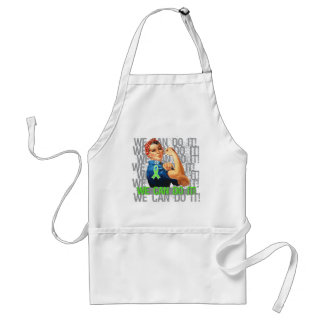 Lyme Disease Rosie WE CAN DO IT Adult Apron