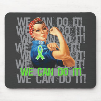 Lyme Disease Rosie WE CAN DO IT Mouse Pad