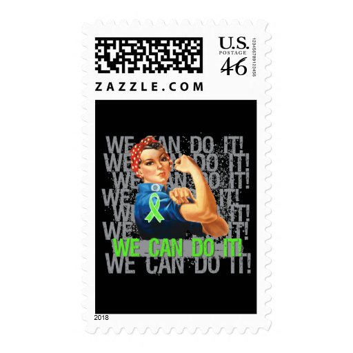 Lyme Disease Rosie WE CAN DO IT Stamp