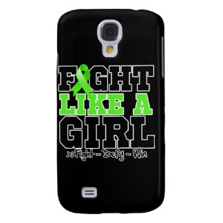 Lyme Disease Sporty Fight Like a Girl Samsung Galaxy S4 Case
