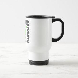 Lyme Disease Support Advocate Cure Mug