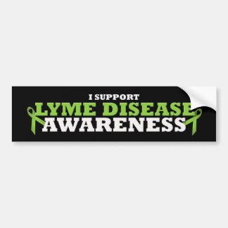 Lyme Disease Support Ribbon Bumper Sticker