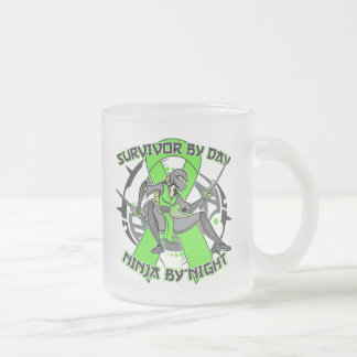 Lyme Disease Survivor By Day Ninja By Night Mug