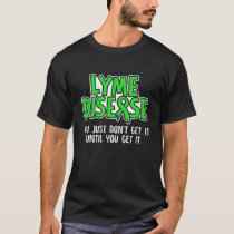 Lyme Disease Survivor Infect Warrior Awareness T-Shirt