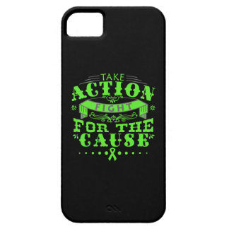 Lyme Disease Take Action Fight For The Cause iPhone 5 Cases