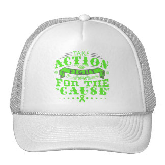 Lyme Disease Take Action Fight For The Cause Mesh Hats