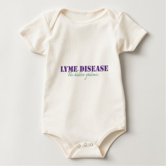 Lyme Disease, The hidden epidemic Baby Bodysuit