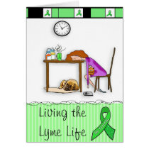 "Lyme Disease ""Thinking of You"" Support Card"