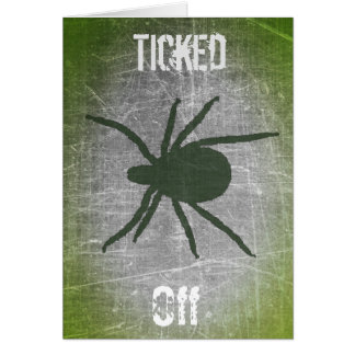 "Lyme Disease ""Ticked off But Still Fighting"" Card"