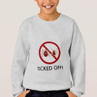 Lyme Disease TICKED OFF! Sweatshirt - customize!