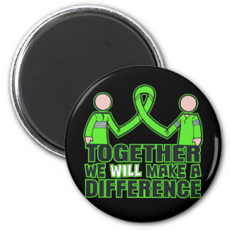 Lyme Disease Together We Will Make A Difference.pn 2 Inch Round Magnet