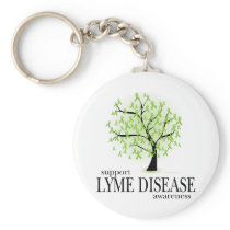 Lyme Disease Tree Keychain