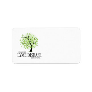 Lyme Disease Tree Personalized Address Labels
