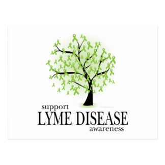 Lyme Disease Tree Postcard