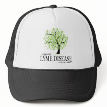 Lyme Disease Tree Trucker Hat