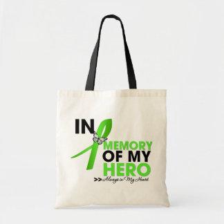 Lyme Disease Tribute In Memory of My Hero Tote Bag