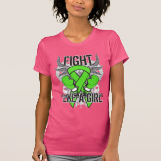 Lyme Disease Ultra Fight Like A Girl Tshirts